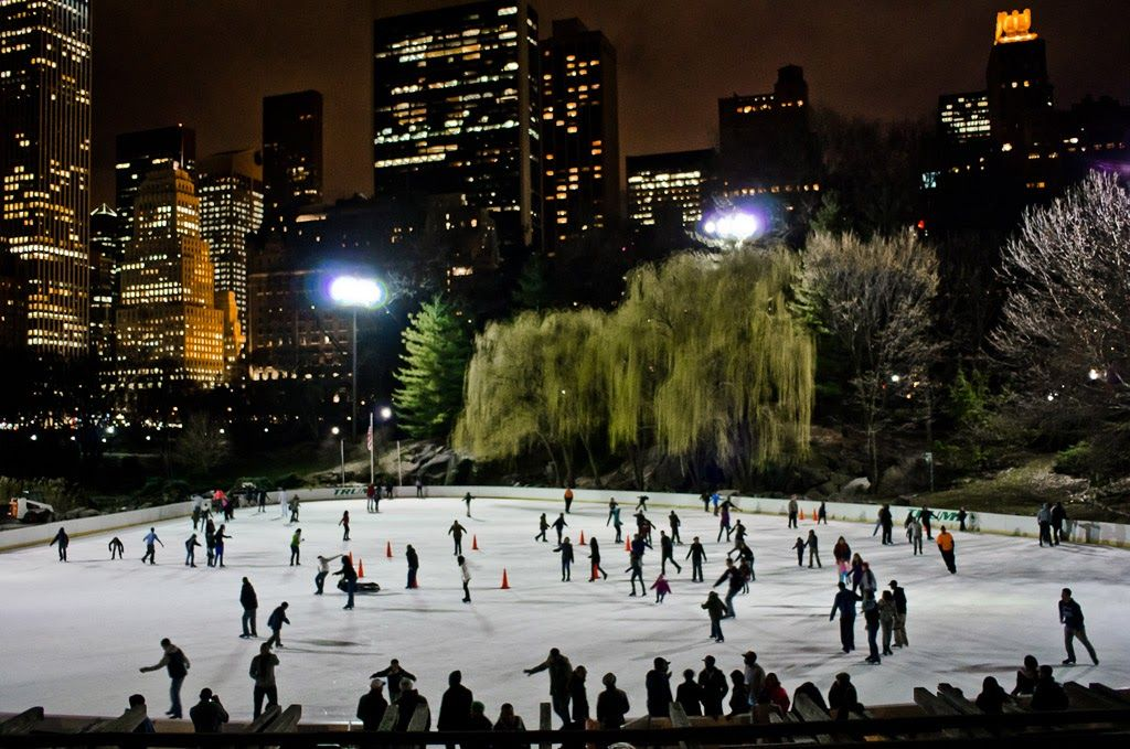 Wollman rink in Central Park